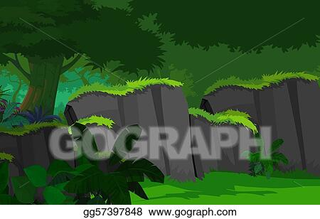 State of the science on western wildfires, forests and climate change. Stock Illustration Dense Forest Clipart Drawing Gg57397848 Gograph