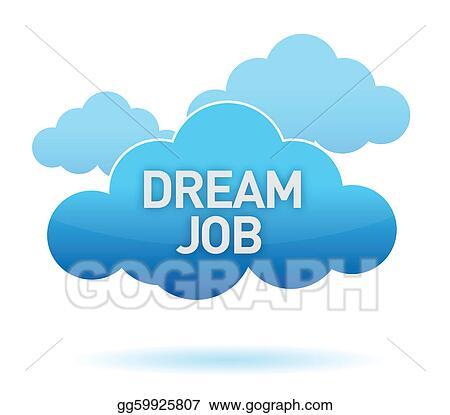stock illustration - dream job