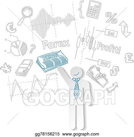 Forex Trader Clip Art