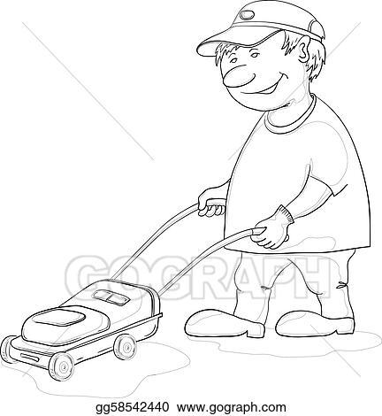 Lawnmower Sketch Templates
