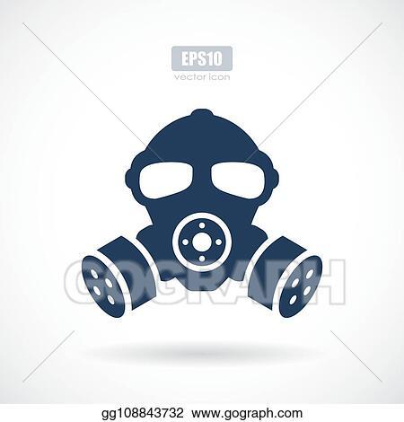 vector illustration gas mask