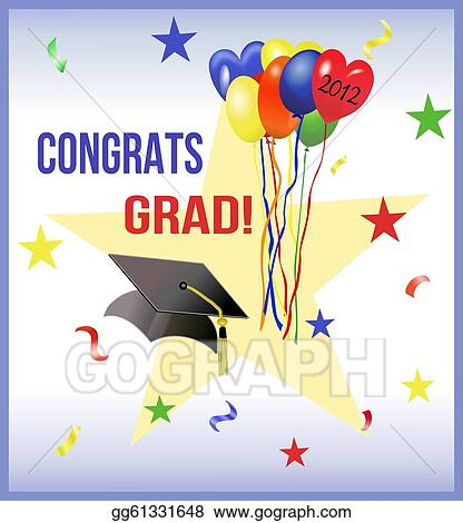 stock illustration - graduation
