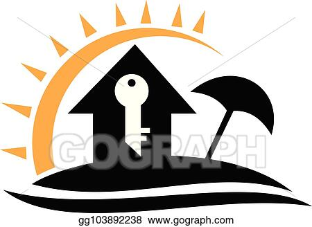 Vector Stock Home Vacation Rental Clipart Illustration Gg103892238 Gograph