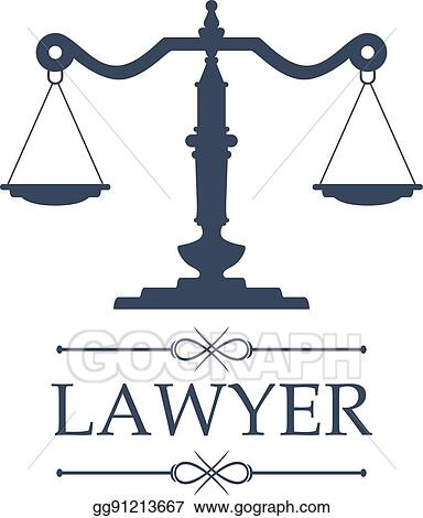vector clipart lawyer icon