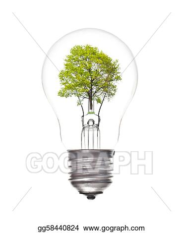 stock illustration light bulb