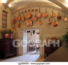 Stock Photography Medieval kitchen Stock Photo gg3899951 GoGraph