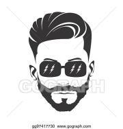stock illustrations - men haircut
