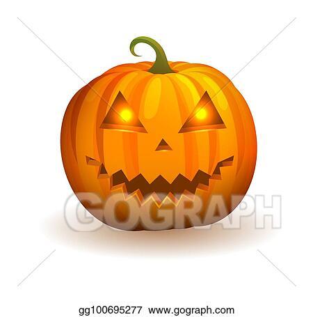 vector stock pumpkin with