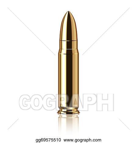 vector clipart rifle bullet