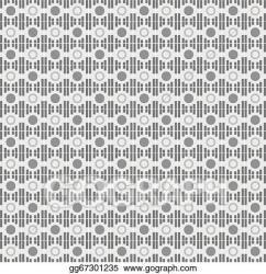 Vector Stock Seamless textile quilt pattern Stock Clip Art gg67301235 GoGraph