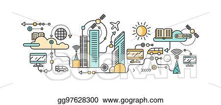vector stock smart technology