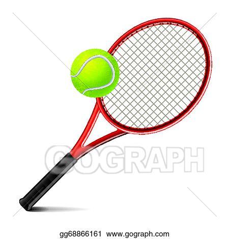Malvorlage Tennisschläger