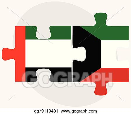 wheelchair emirates antique sewing chair with drawer eps illustration united arab and kuwait flags vector