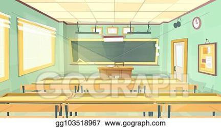 EPS Illustration Vector cartoon background back to college university Vector Clipart gg103518967 GoGraph