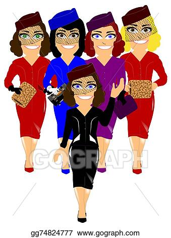 Committee Clipart : committee, clipart, Stock, Illustration, Welcoming, Committee, Clipart, Gg74824777, GoGraph