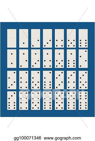 Bones Game Dominoes : bones, dominoes, Vector, Illustration, White, Domino, Classic, Dominoes, Style., Bones, Pieces, Illustration., Stock, Gg100071346, GoGraph