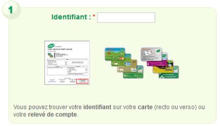 identifiant espace client carte Auchan