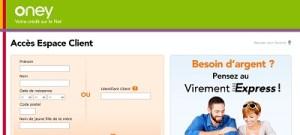 Mon compte oney banque accord espace client - Oney banque accord prelevement ...