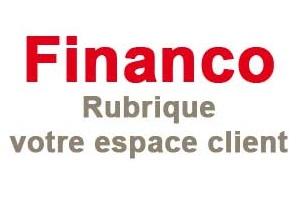 financo rubrique espace client