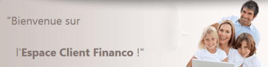 espace client financo