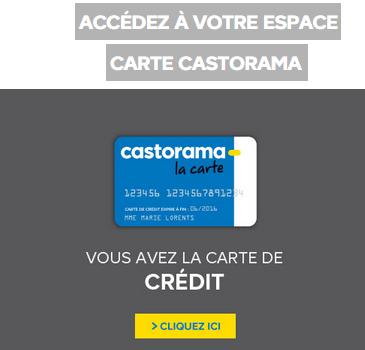espace client carte castorama