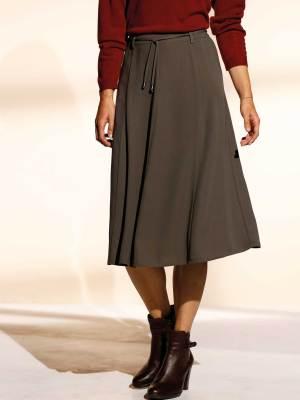 La jupe fluide taille élastiquée