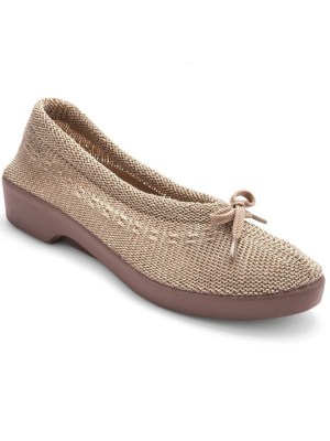 ballerines tricot extensible