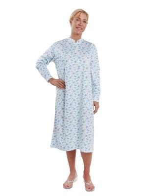 Chemise de nuit ouverture dans le dos
