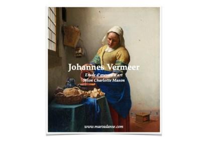 Vermeer etude art couverture