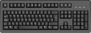 es un teclado mas comun ya mas conosido por los compradores y es compatible con las marcas costo $200