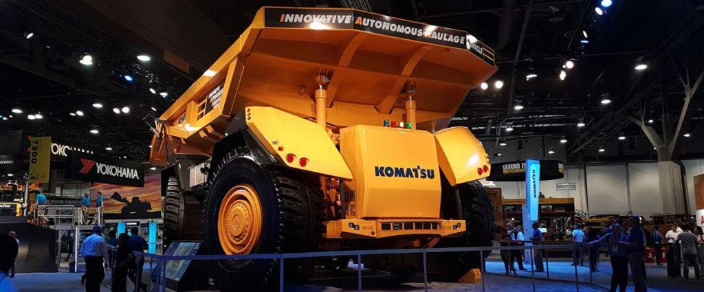Camión Autónomo Komatsu