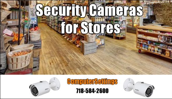 Security Cameras Installation Service for Stores