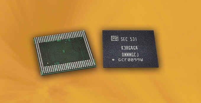 Samsung smartphone 6GB-RAM