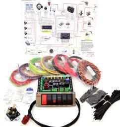 standard complete wiring kit switch panels [ 1024 x 900 Pixel ]