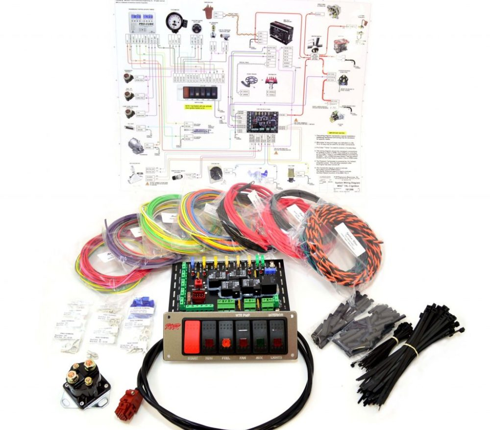 medium resolution of standard complete wiring kit