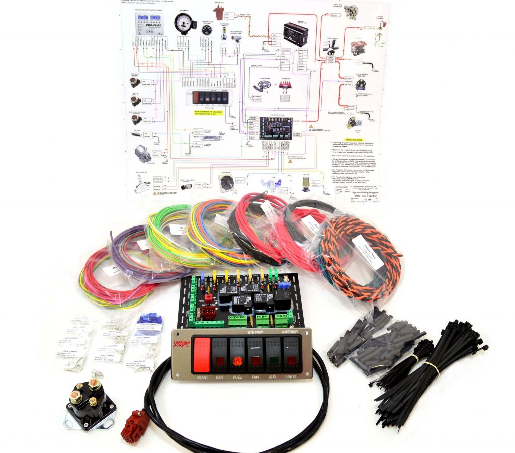 hight resolution of standard complete wiring kit