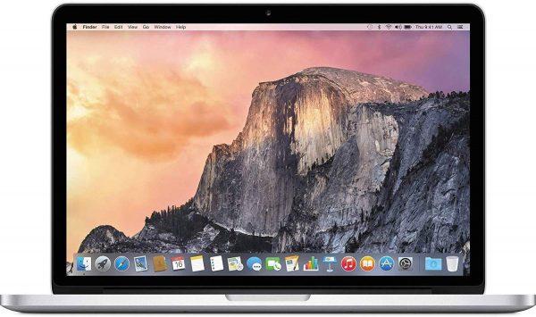 Apple MacBook Pro 15.4′ Quad-Core i7 2.9GHz 16GB 512GB SSD Silver A1707 MPTV2LL/A Refurbished