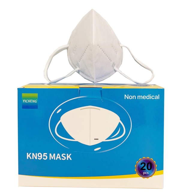 20 Pack KN95 Protective Face Mask Cover Mouth Nose CE/ECM/FDA Certified 3