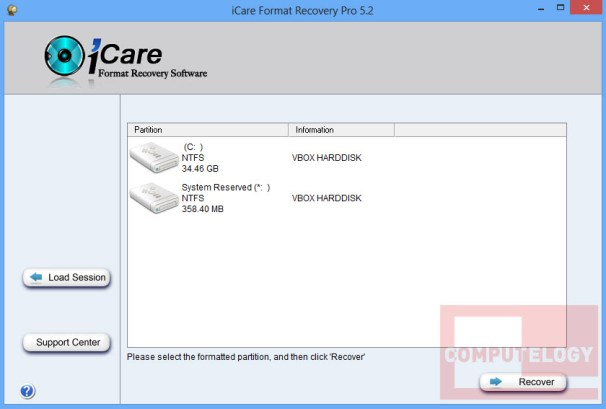 iCare Format Recovery Pro 5.2