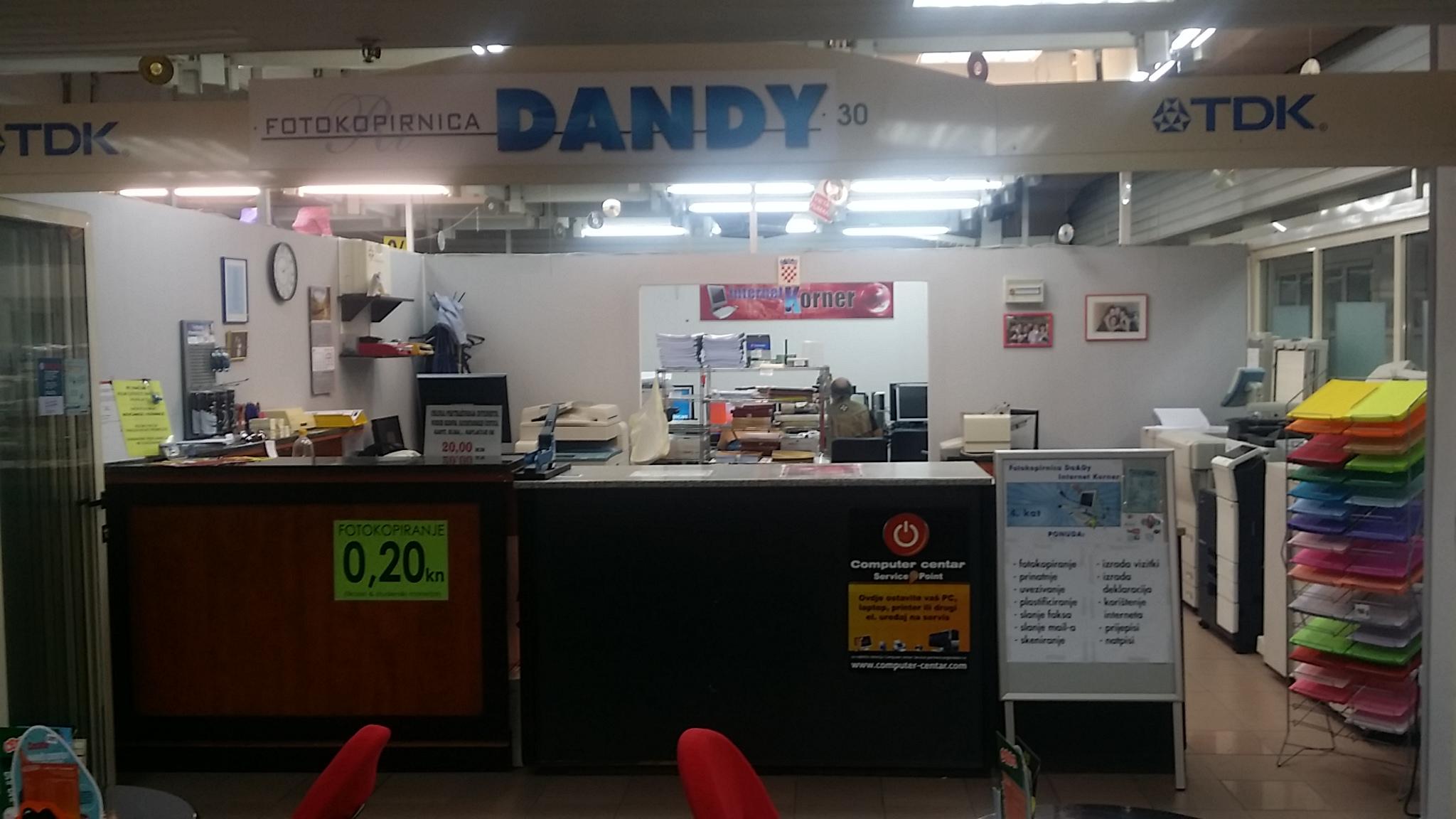 computer centar fotokopirnica dandy service point