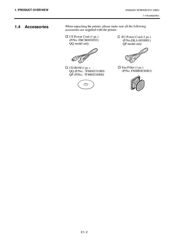 Toshiba TEC B-SX4T-QQ-QP Thermal Printer Owners Manual