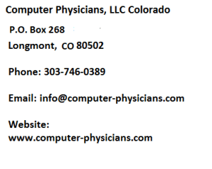 PC Repair Longmont/Boulder/Denver/Erie Colorado