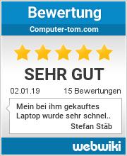 Bewertungen zu computer-tom.com