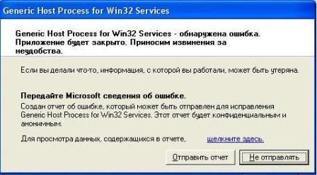 Generic Host Process for Win32 Services