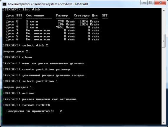 Операционная система windows 7 на флэшке 5