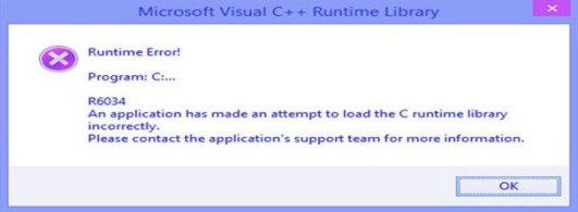 Runtime-Error-r6034