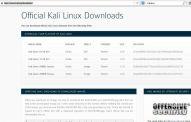 кали линукс сайт