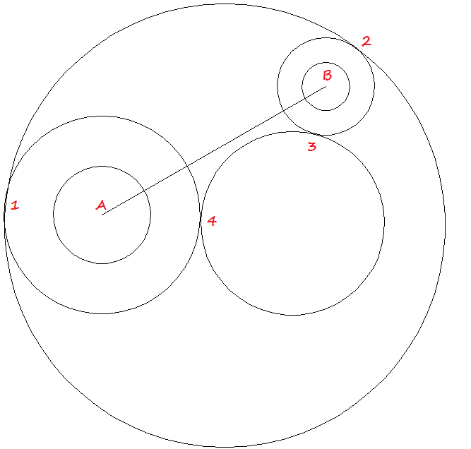 Guest Post: Draw a circle with radius tangent to two
