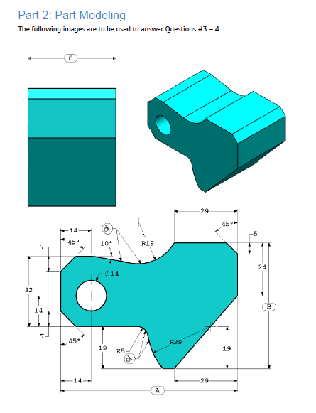 Solidworks Practice Parts : solidworks, practice, parts, Solidworks, Certificate, Preperation:, Modelling, Exercise, 12CAD.com