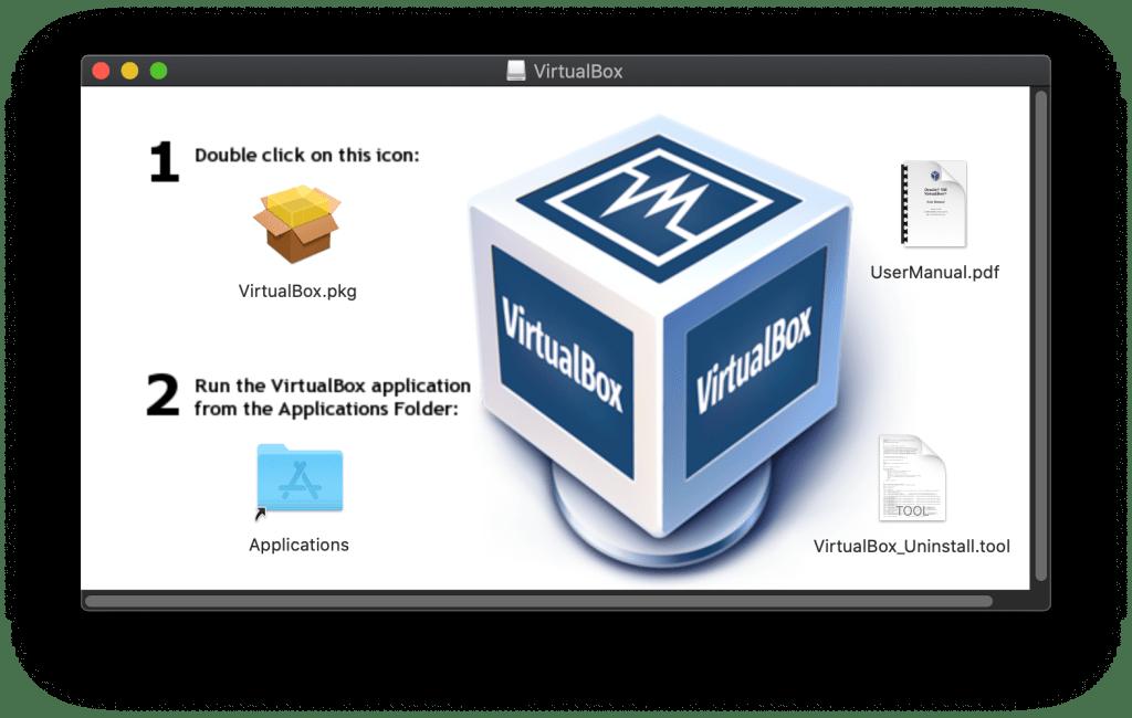 vbox mac installation